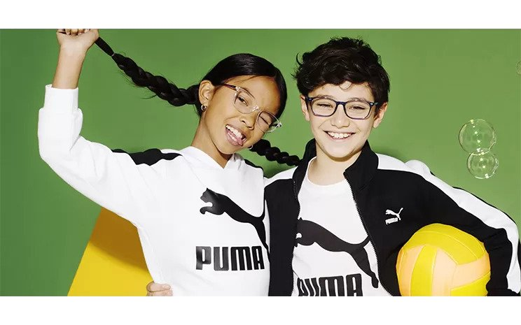optical frames and sunglasses of the trending brand Puma in South Africa